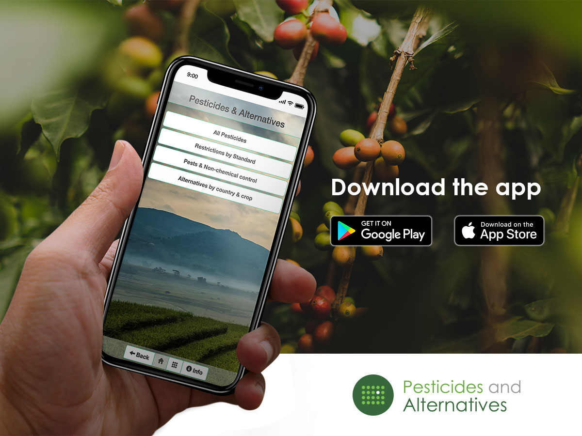 New App to reduce the use of highly toxic pesticides is now available!
