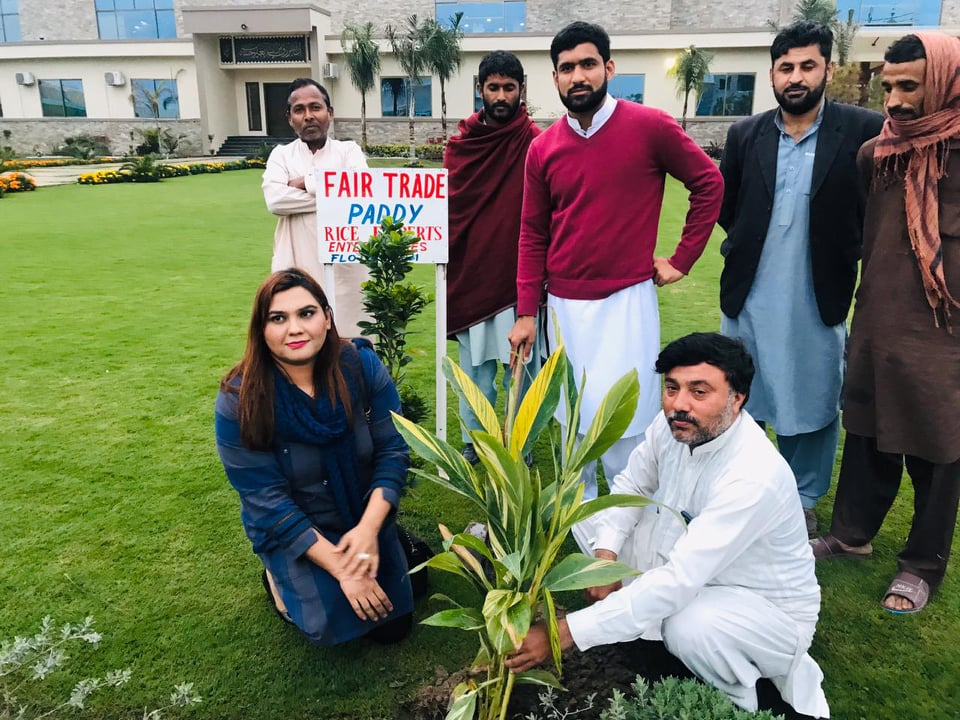 Tree Plantation Campaign to address Climate Change in Pakistan